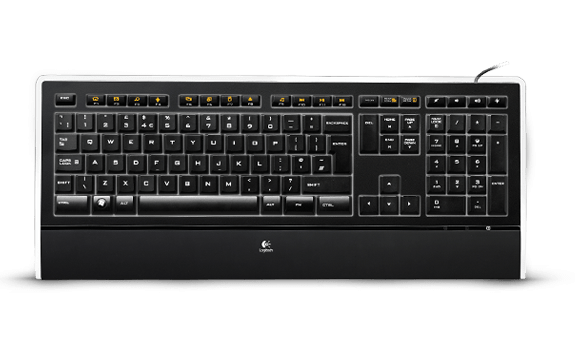Logitech Illuminated Keyboard K740 (German Layout)