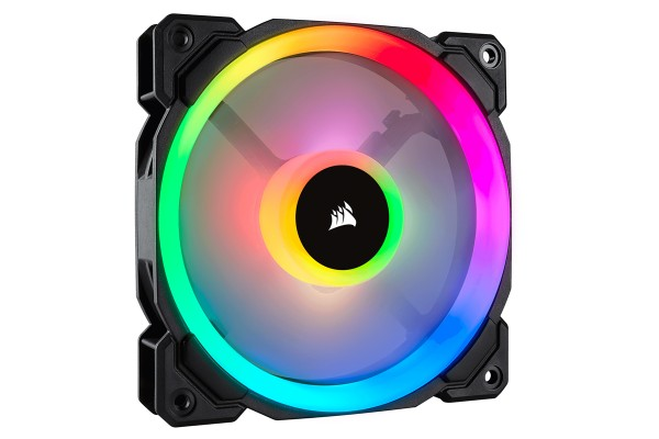 Corsair LL Series LL120 RGB-LED Premium Magnetic Levitation Fan (120x120x25)