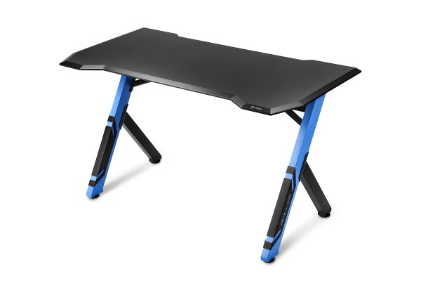 Sharkoon Shark Skiller SGD1 gaming desk - black/blue