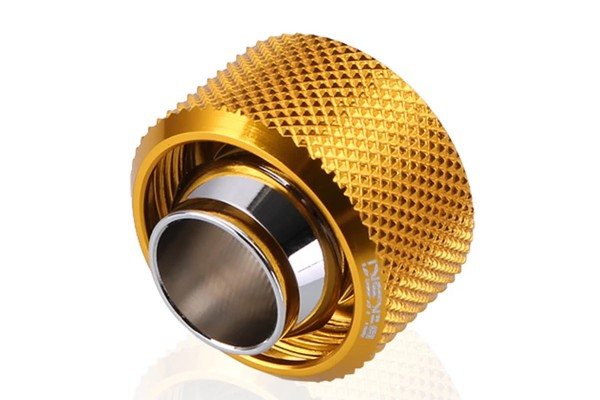 Bykski B-FT4-TK-V2-GD 16/10mm compression fitting - Gold