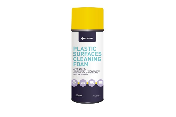 Platinet Plastic Cleaning Foam 400ml