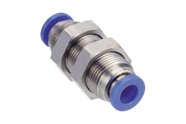8mm loop-through connector blue