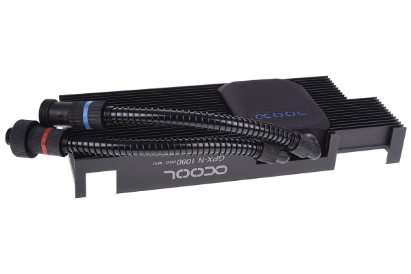 Alphacool Eiswolf GPX Pro - Nvidia Geforce GTX 1080 Pro M10 - incl. backplate
