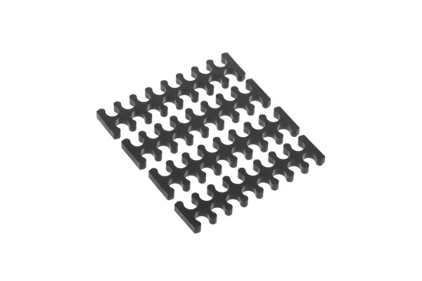 Alphacool Eiskamm X16 - 3mm black - 4 pcs