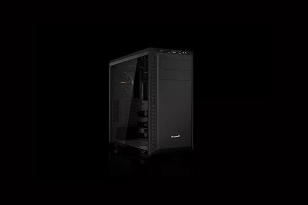 be quiet! PURE BASE 600 Window Black