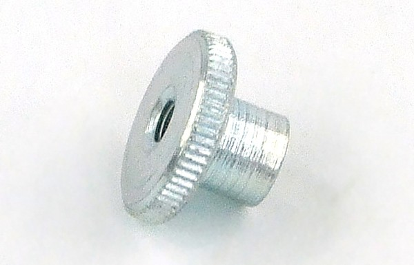 knurled nut DIN 466 high shape M4 zinc coated