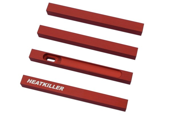 Watercool HEATKILLER® Tube - stuts 100mm - red