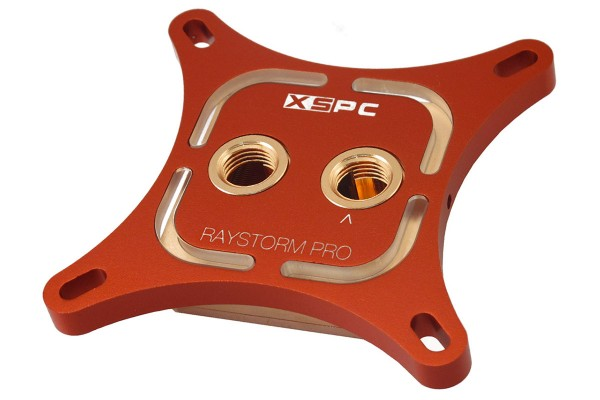 XSPC RayStorm Pro WaterBlock Intel 1366/1156/1155/1151/1150/2011 - red
