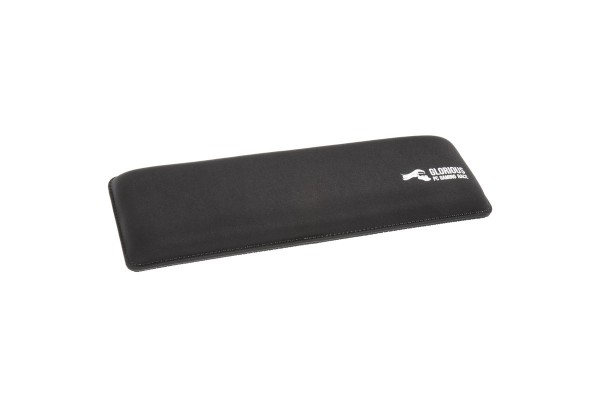 Glorious PC Gaming Race keyboard wrist rest - Compact, black