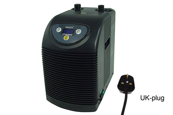waterchiller Hailea Ultra Titan 200 (HC150=165Watt cooling capacity) - UK Plug