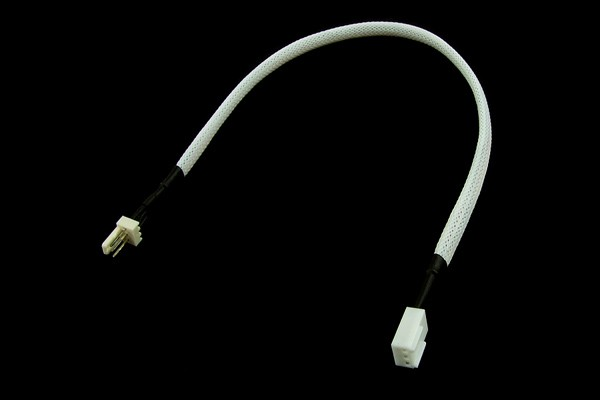 extension 3Pin Molex 30cm - UV white