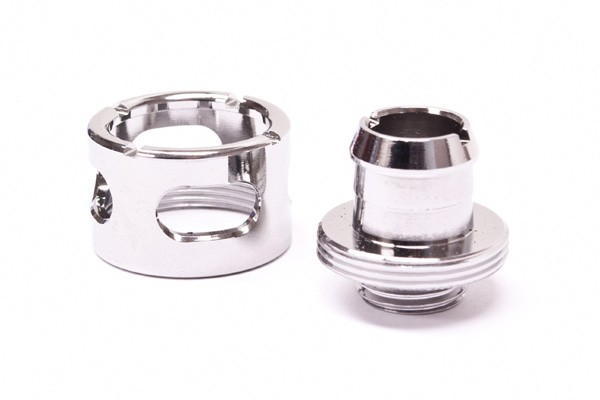 "Monsoon 19/13mm (ID 1/2"" OD 3/4"") compression fitting - Chrome"