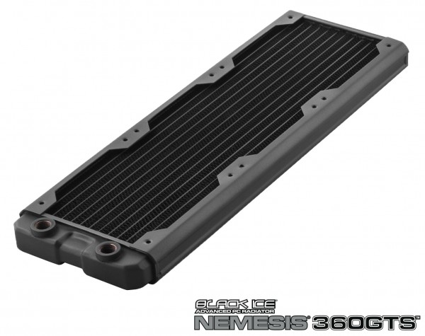 Black Ice Nemesis radiator GTS 360 - black