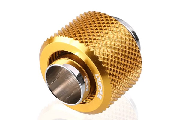 Bykski B-FT3-TN-V2-GD 13/10mm compression fitting - Gold