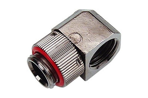 "Koolance angled adaptor revolvable G1/4"" to G1/4"" inner thread"