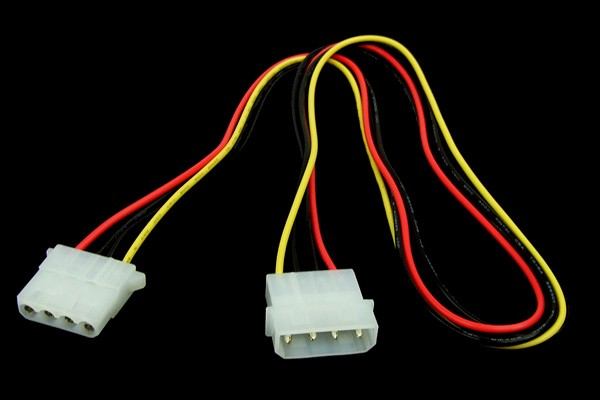Phobya 4Pin Molex power extension 60cm