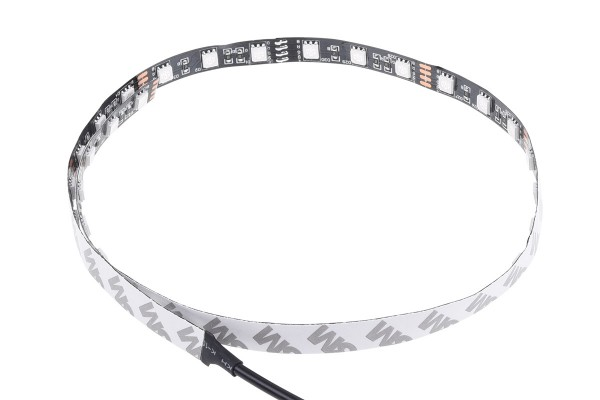 Alphacool Aurora LED flexible light 60cm incl. Controller - RGB