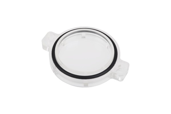 Alphacool replacement cover Plexi for Repack - Dual DC-LT - 5,25 Single Bay Station