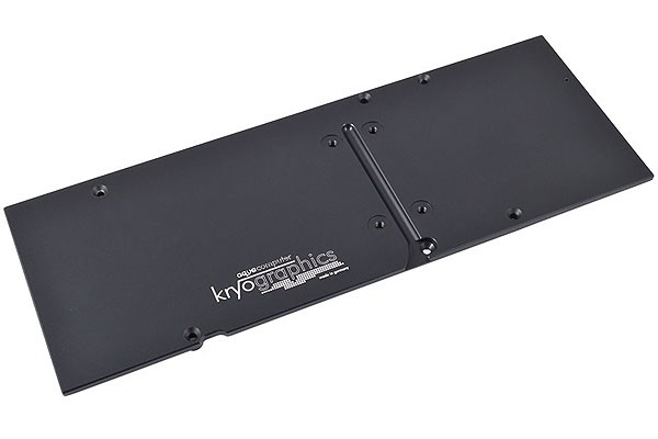 Aquacomputer backplate for kryographics Hawaii R9 290X/290, passive