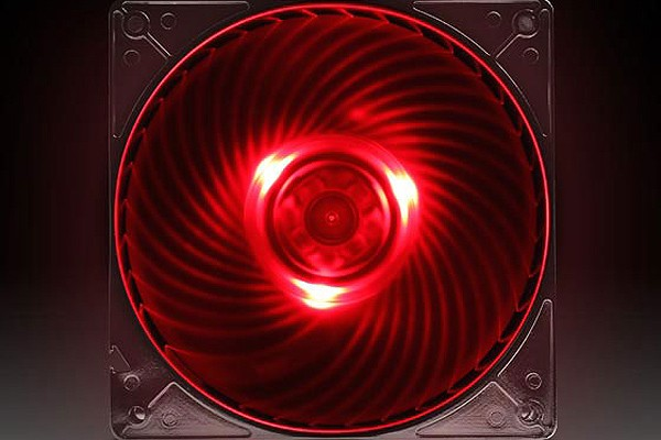 Silverstone 120mm Lüfter Air Penetrator SST-AP121-RL - Red (120x120x25mm)