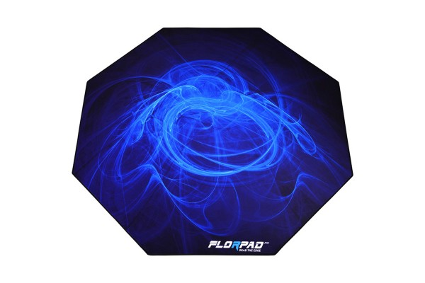 Florpad Arctic Gamer-/eSports floor protection mat - blue, soft, Core