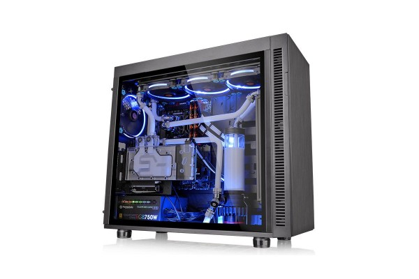 Thermaltake Suppressor F51 TG Midi Tower case- black incl. window
