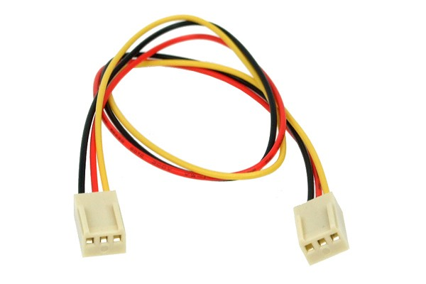 Connection cable 3Pin male to 3Pin male with rpm signal