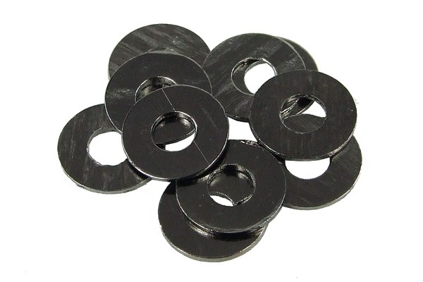 washer DIN 125 M3 black anonized (10pcs)