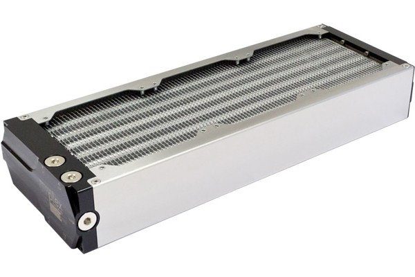 Aquacomputer airplex modularity system 360 mm, aluminum fins, one circuit, stainless steel side panels