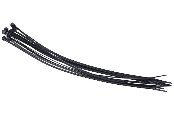 Phobya Zip tie black 4,8x300mm 10 pcs