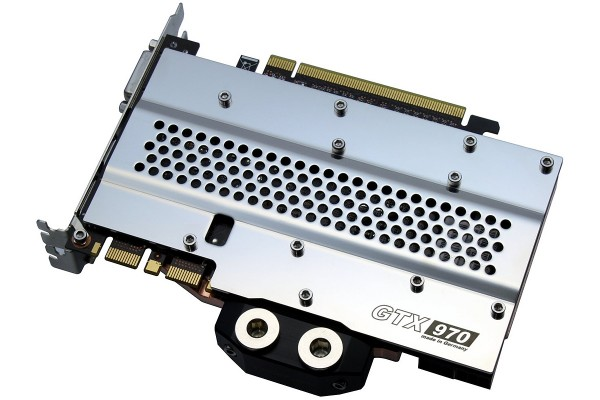 Watercool HEATKILLER® GPU Backplate GTX 970