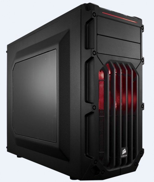 Corsair SPEC-03 Red LED - schwarz