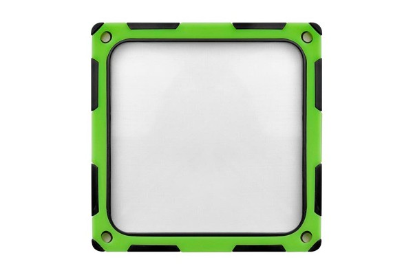 Silverstone fan filter magnetic SST-FF124BV-E - black/green