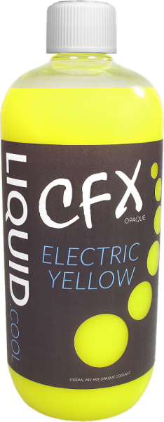 Liquid.cool CFX premix Opaque Performance cooling fluid - 1000ml - Electric Yellow
