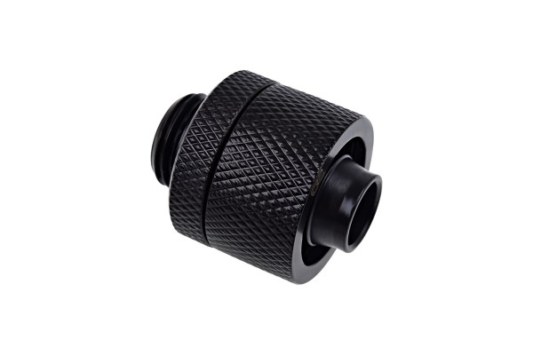 Alphacool Eiszapfen 16/10mm compression fitting G1/4 - deep black