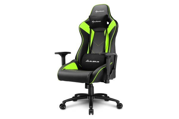 Sharkoon Elbrus 3 Gaming chair black/green