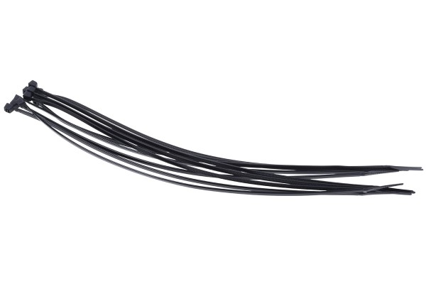 Phobya Zip tie black 3,6x300mm 10 pcs