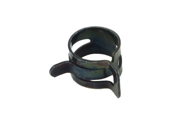 hose clamp spring 15 - 17mm black