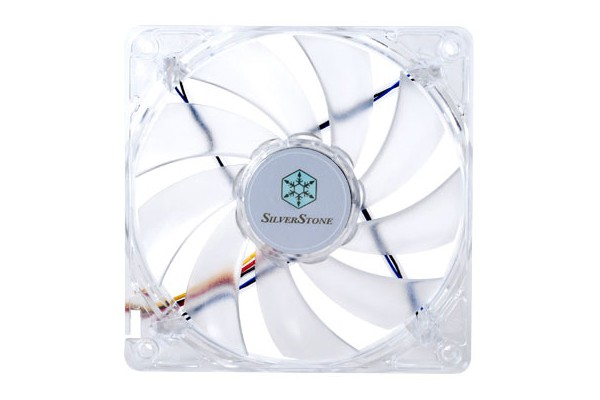 Silverstone 120mm fan SST-FN121-P-RL - Red (120x120x25mm)
