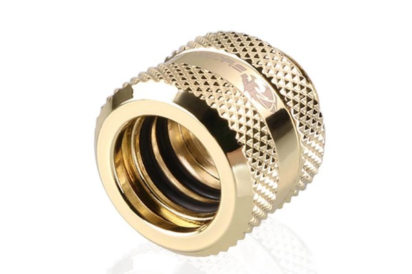 Bykski B-HTJV2-L14-GD HardTube 14mm compression fitting V2 - Gold