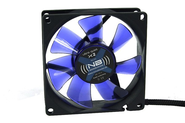 Noiseblocker NB-BlackSilent Fan X2 Rev. 3.0 ( 80x80x25mm )