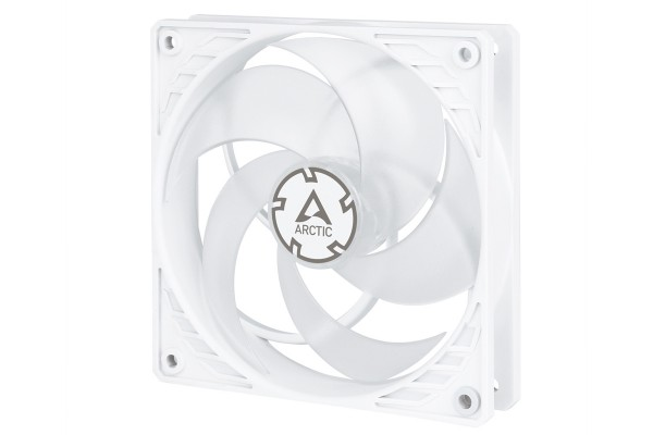 Arctic P12 PWM PST case fan (120x120x25mm) - white/transparent