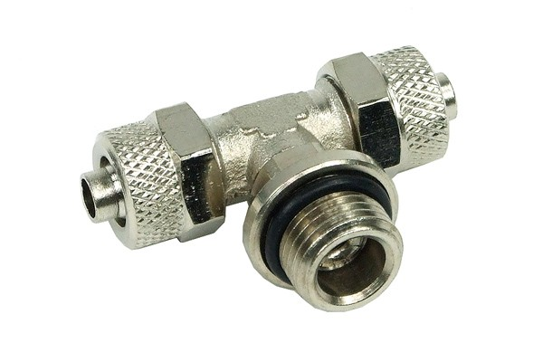 8/6mm (6x1mm) compression fitting G1/4 - T - revolvable