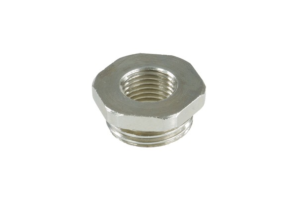 Reducing piece G1/4 to G3/8 outer thread without O-Ring