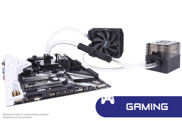 Alphacool Eissturm Gaming Copper 30 1x120mm - complete kit