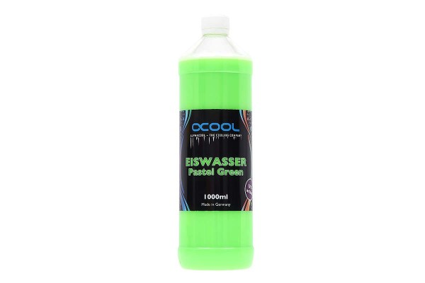 Alphacool Eiswasser Pastel Green UV-active premixed coolant 1000ml