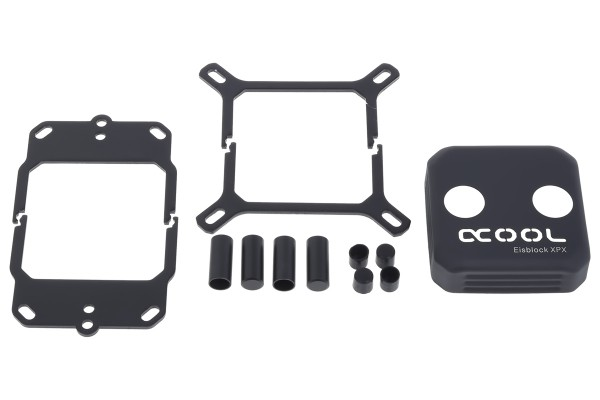 Alphacool Eisblock XPX CPU replacement cover - deep black