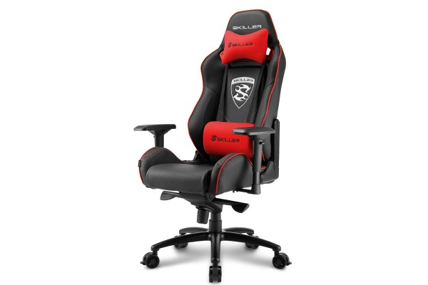Sharkoon Skiller SGS3 gaming chair - black/red