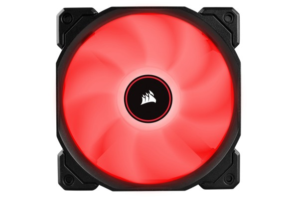 Corsair AF Series AF120 Red LED 120mm case fan - 3er Pack (120x120x25mm)