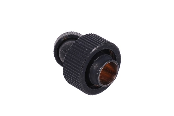 19/13mm compression fitting 45° revolvable G1/4 - compact - matte black